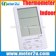 China supplier clock calendar thermometer Digital multi thermometer