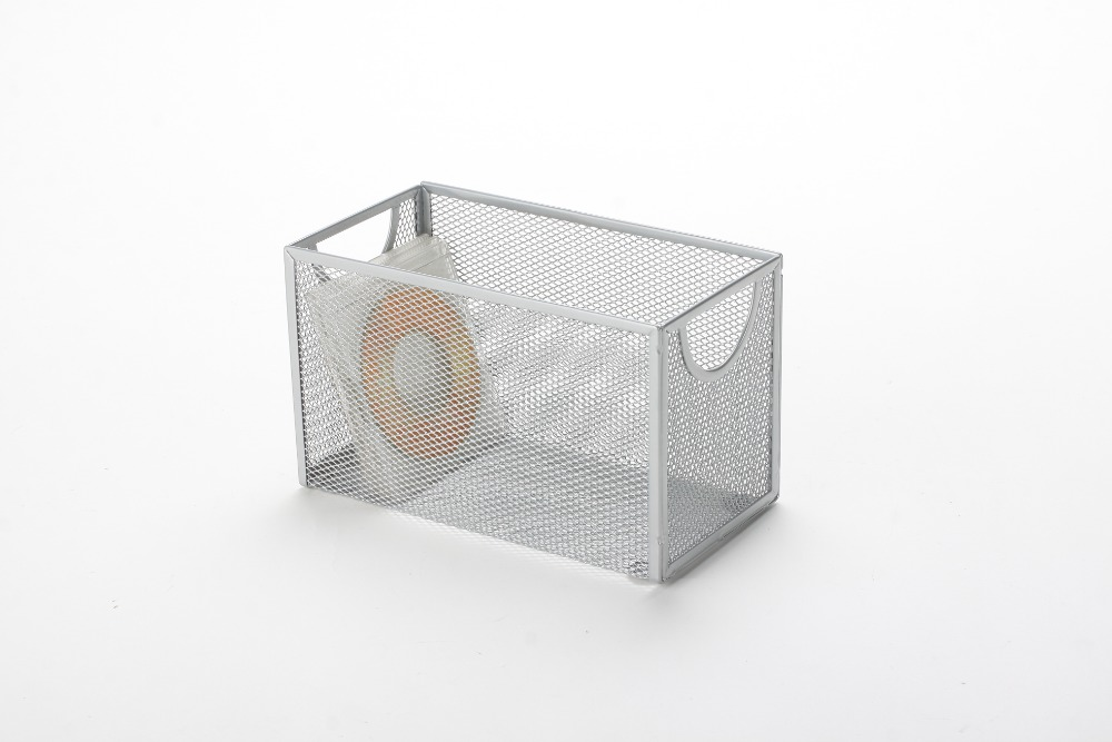 metal mesh office square CD rack