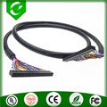 40pin dupont 2.0 lvds black cable with PVC shielding