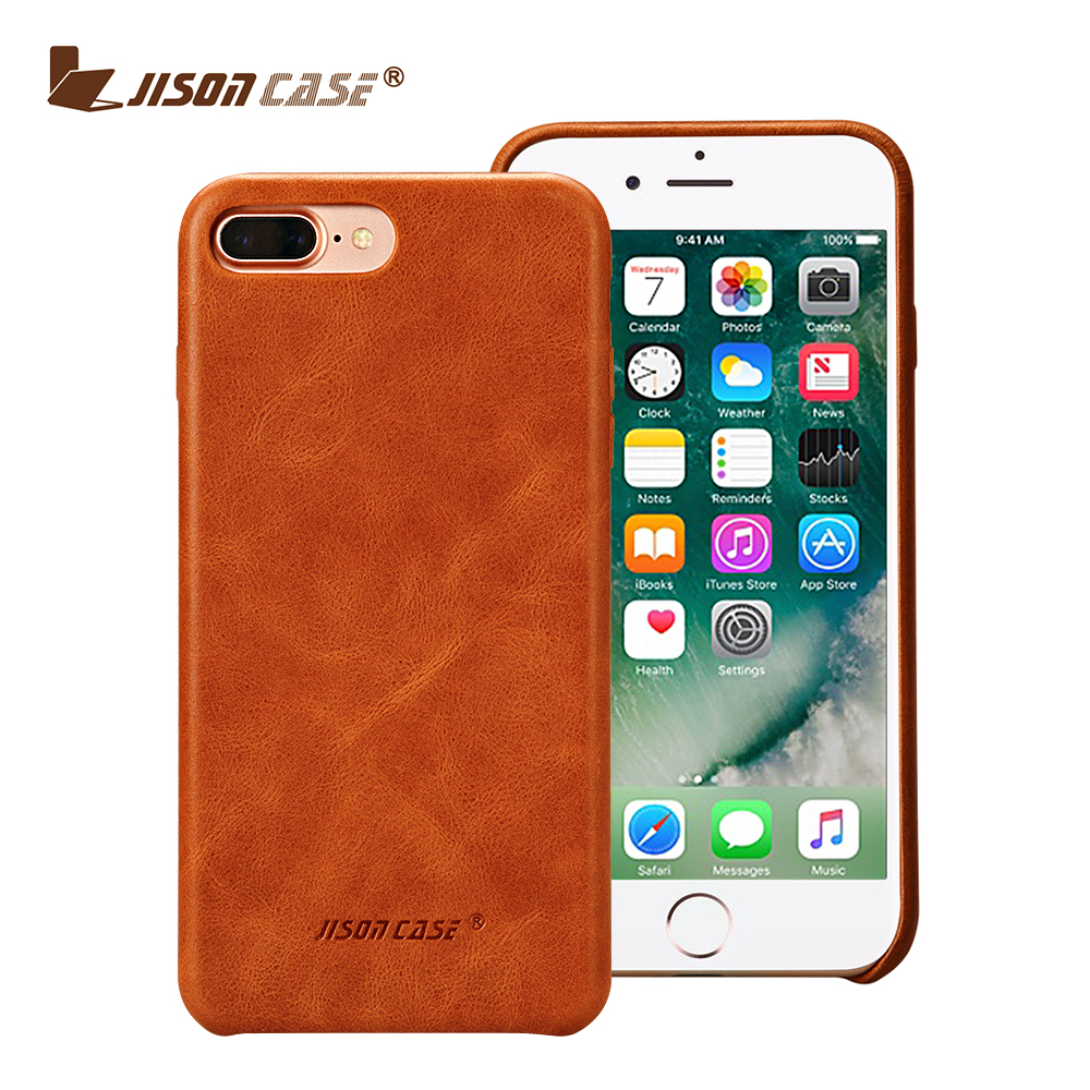 Wholesale Luxury leather handmade Mobile Phone Case Leather for IPhone 7 / 7 Plus