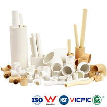 ASTM Standard 2 inch CPVC Pipes and CPVC Fittings