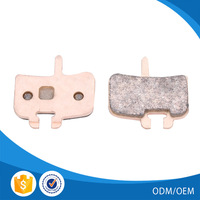 High quality sintered disc brake pad bicycle for Mountain Bike