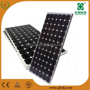 150w 24v mono solar panel with junction box