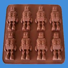 Cartoon character Viking chocolate plastic molds