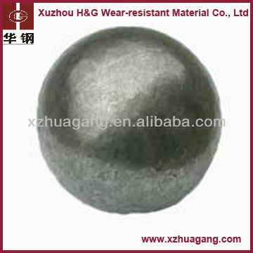 High Chrome Alloyed Casting steel grinding Ball, alloy milling media for ball mill operation