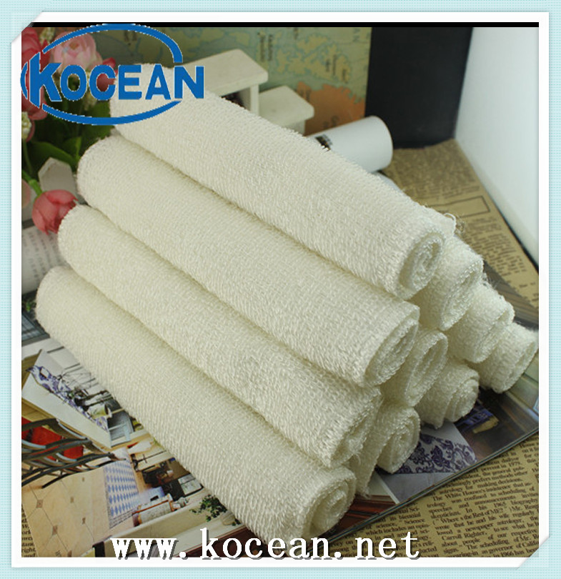 White Bamboo Fiber Kitchen Cleaning Cloth For Dish Cleaning Wholesale