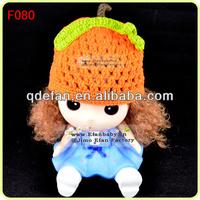 Crochet pumpkin baby hat soft newborn baby hat knitting pattern