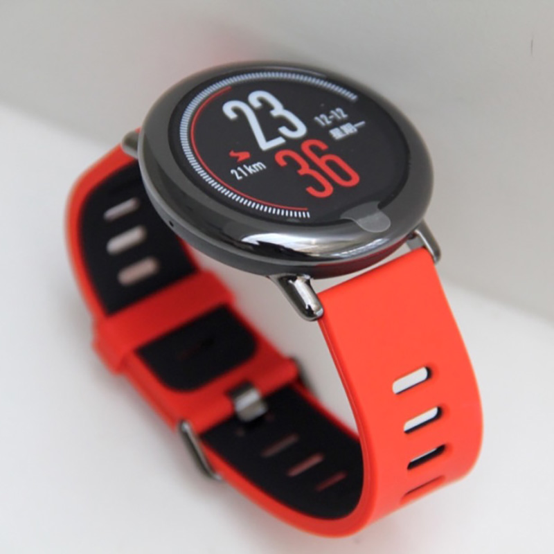 100% Original Xiaomi Huami Amazfit Smart Watch Bluetooth Music Play Ceramics Body 280mAH 5 Days Standby PPG Heart Rate Sensor