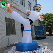 5m Giant Taekwondo Boy Inflatable Advertising For Promotion A689