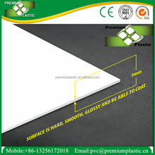 Good quality 5mm pvc forex board/pvc foam sheet best price for engraving
