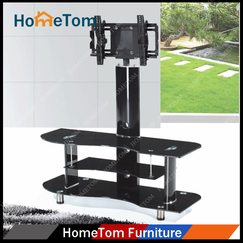 Modern LCD Metal Glass Plasma TV Stand