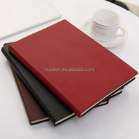 custom logo a5 pu leather notebook cover/a5 hardback notebook