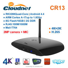 Cloudnetgo google Android5.1 Smart TV Box RK3288 2.4GHz/5.0GHzuad core A17