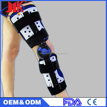 Neoprene Hinged Open Knee Brace for Stressed Muscle