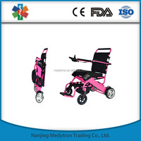 Aluminum Alloy Commode Wheelchair with EMS