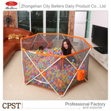 One Hand Plastic Baby Playpen Play Yard