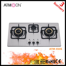 Factory New Model Kitchen Appliance 5 Burner Gas Stove/gas Cooktops