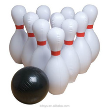 Hot sale bowling ball and pins, inflatable bowling ball