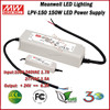 Meanwell LED Driver LPV-150-24 Single Output Waterproof 150W Switching LED Power Supply 24V 6.3A