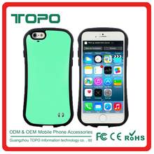 Small pretty waist Classic Design hybrid PC TPU Silicon mobile phone case cover for phone 6 6s plus