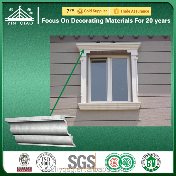 Shanghai Supply Customizable GRC Building Material Cornice