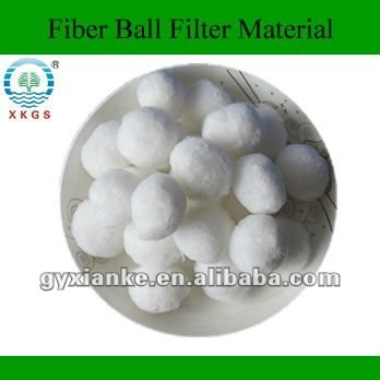 Modified Fiber Ball for Water Treatment