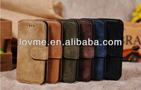 New Retro Suede Leather Case For Apple iPhone5 New iPhone
