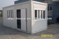 tow storey prefabricated container dormitory hotel for sale