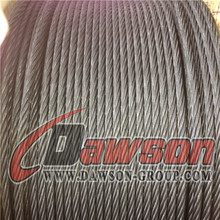 Anti Twisted Hexagon 12 strands 18 strands Steel Wire Rope