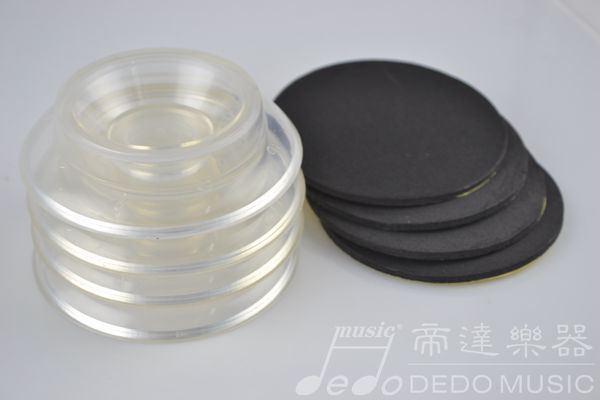 2015 DEDO MUSIC double wheel plastic piano caster cups