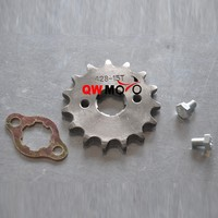 China Motorcycle ATV Pit Bike Parts 15T Tooth Engine Sprocket for 428 Chain