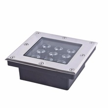outdoor recessed floor rgb 9w stairs led underground light(CE/EMC/LVD)
