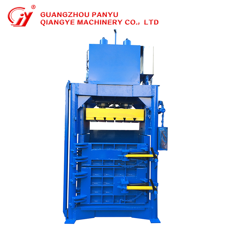 High quality waste plastic bottles press baler packing recycling machine