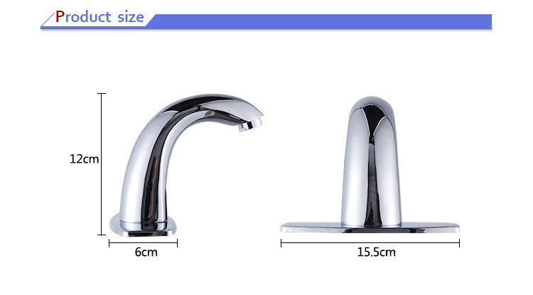 Automatic Home used Cold and Hot Sensor Brass Medical wash faucet