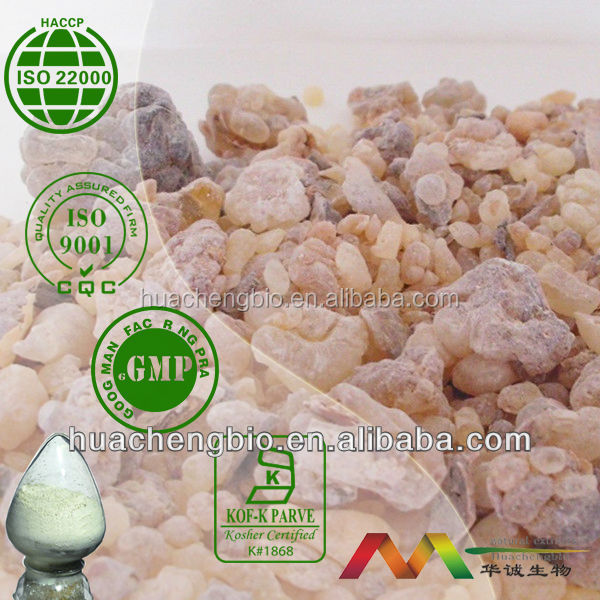 Natural 45%~65% Boswellic acid Boswellia Serrata Extract