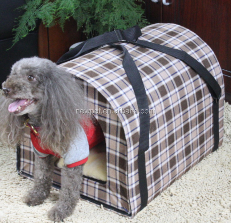 Popular products hot selling xl large big check pet house dog house with lawn