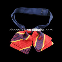 Fashion silk girls school uniform bow ties