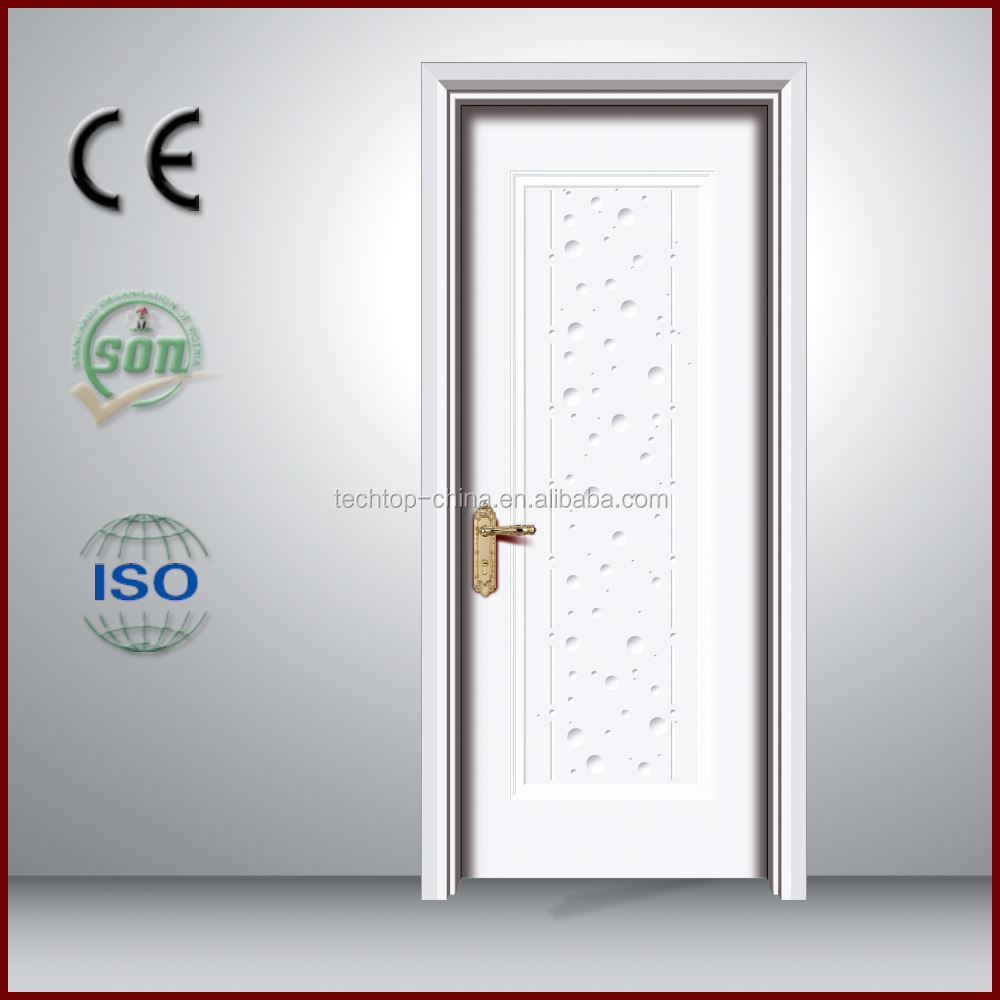2016 alibaba arched glass interior pvc door sales discount interior use pvc faced MDF door ply wood for Middle East market