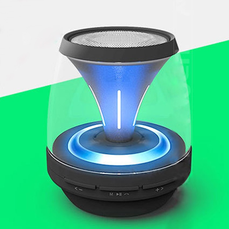 mini blue tooth speakers with led light fm radio usb port and tf card bleutooth speaker