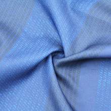korean ombre printed polyester fabric material