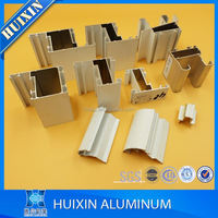 China supplier glass frame aluminum profile for windows and door