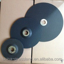 DEPRESSED CENTER GRINDING WHEEL FOR GRET CAST IRON,NATURAL AND ARTIFICIAL STONES,CLEANING OF SWITCHBOARDS CHAMFER OF EDGES