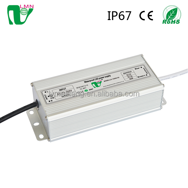 CE IP67 waterproof constant Voltage led street light driver 24V 120W