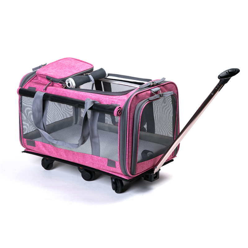 pet trolley bag, pet bag, dog show trolley, wheeled pet carrier,foldable pet carrier