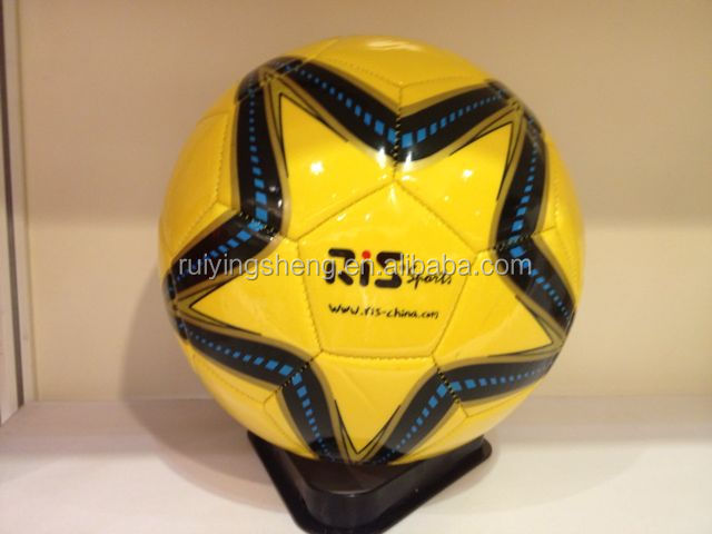 Factory supply size 1,2,3,4,5 customized logo promotional soccer ball