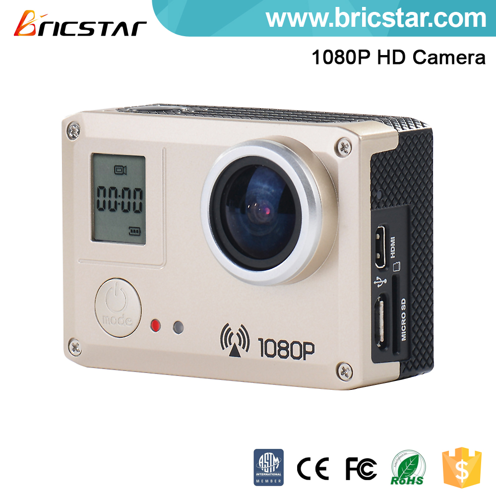 WIFI connection wireless hd sports camera 1080 30 fps