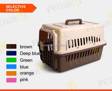 6 colors and 5 sizes airline approved pet dog crate