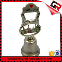 low price customized souvenir metal dinner bell small dinner bell restaurant BL012 souvenir bell