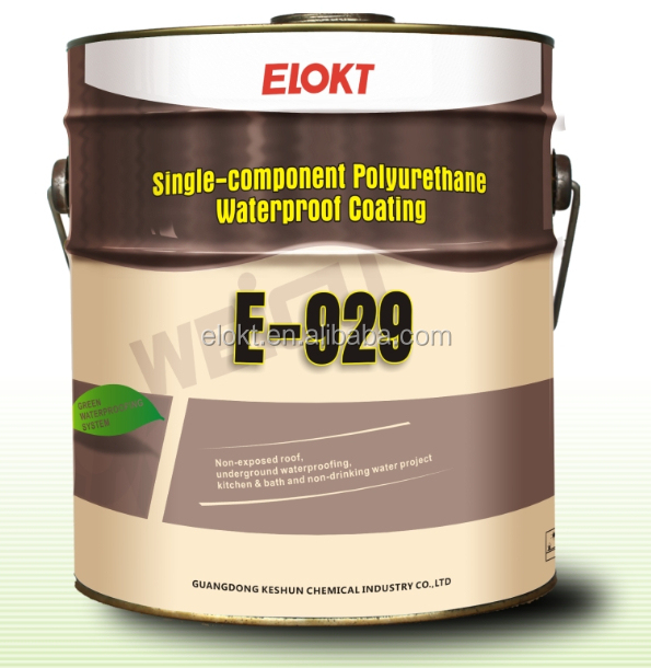 polyurethane waterproof coating for Basement Roof Wall water proofing paint