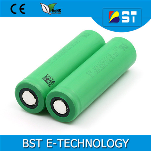 Original Japan cell us 18650v3 vtc3 2250mAh high discharge Li-ion rechargeable se us18650v3